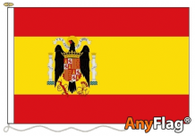 SPAIN 1939 1945 ANYFLAG RANGE - VARIOUS SIZES